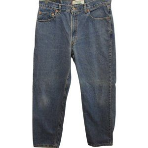 Levis 550 Mens Jeans 36x32 Measured 36x30 Relaxed